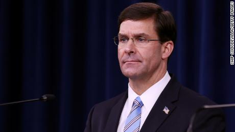 Esper 'flabbergasted' to learn of Navy secretary's secret White House outreach about Navy SEAL