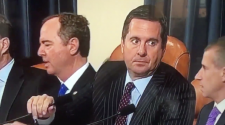 Nunes's facial expression right before lawmakers took break from Sondland testimony goes viral