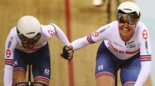 Track World Cup: Katie Archibald & Elinor Barker win silver in madison