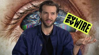 Guy Burnet says the show's scary technology already exists
