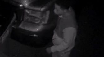 Franklin Police look to identify person after vehicle break ins