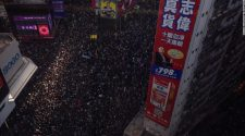Hong Kong protests: Pro-democracy movement keeps up pressure with mass march