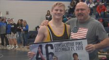 Hutmacher and March break 44-year South Dakota wrestling record