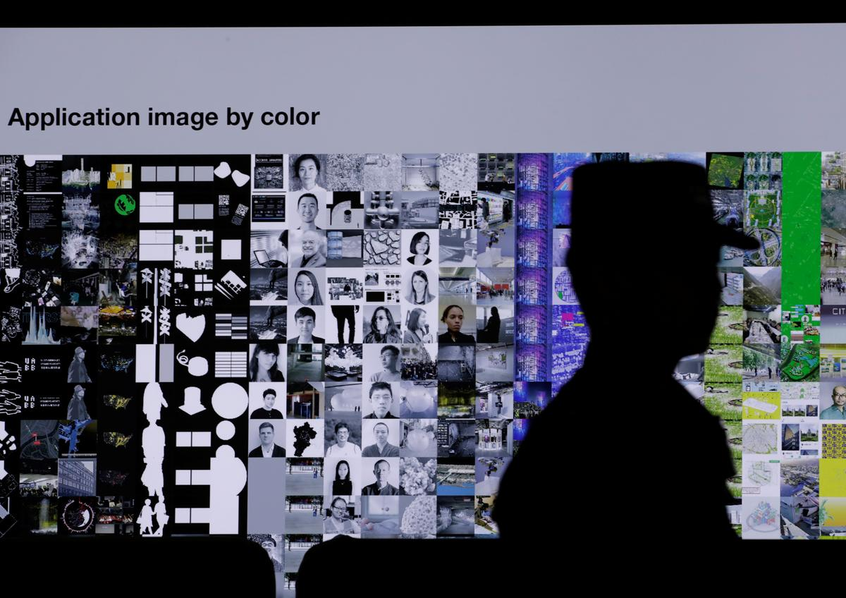 Exhibition in China reflects on loss of anonymity to recognition technology