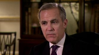 Bank of England chief Mark Carney issues climate change warning