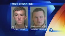 2 men face numerous charges in series of break-ins in Troy