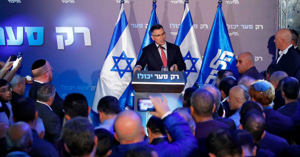 Breaking Ranks, a Rival Takes on Israel's Netanyahu From Within
