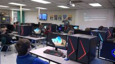 Grafton High School students learn about a future in technology