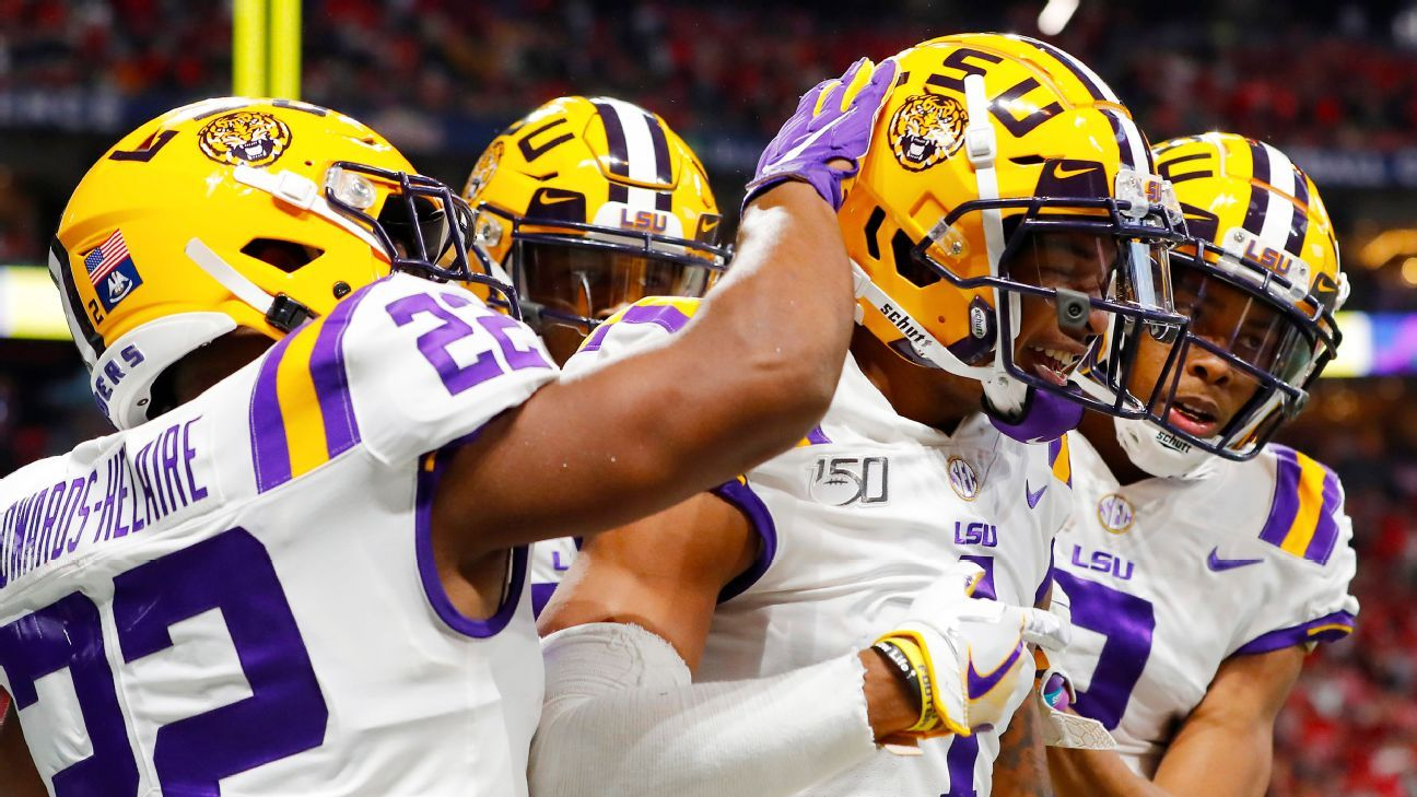 College Football Playoff tracker -- OU is safe, while LSU, Ohio State and Clemson battle for top spot