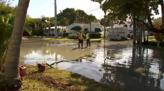 Crews Repair Fourth Sewer Line Break in Fort Lauderdale Neighborhood – NBC 6 South Florida