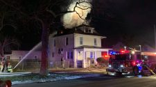 Crews battling early Thursday morning fire in East Moline