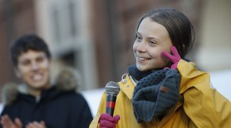 Greta Thunberg apologizes for 'against the wall' remark, plans a break from climate activism