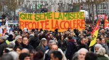 Live: France strike set to paralyze country as protesters take to streets
