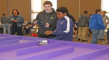 NSU's Department of Engineering Technology hosts 5th annual Robotics Competition