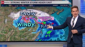 Thanksgiving travel: Two storms leave 50 million under winter alert