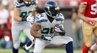 The Seahawks have re-signed Marshawn Lynch