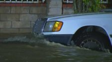Water Main Break Floods Streets, Homes In Mission Hills – CBS Los Angeles