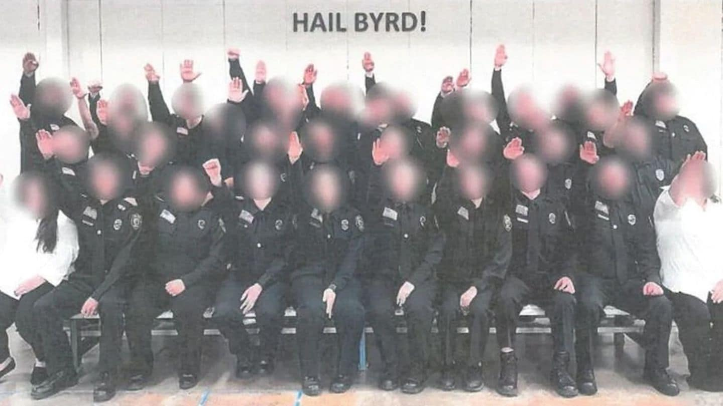 West Virginia Nazi salute: Corrections employees in Hail Byrd photo fired by Gov. Jim Justice