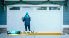 Relieving holiday stress with smart garage technology and in-garage delivery on Coast Live