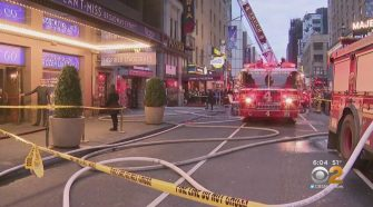 Flames Break Out At Popular Pizzeria John's Of Times Square, FDNY Says – CBS New York
