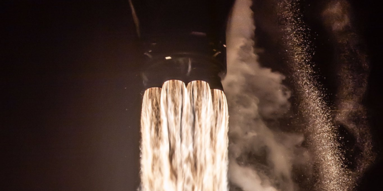 With Monday night launch, SpaceX to become world's largest satellite operator