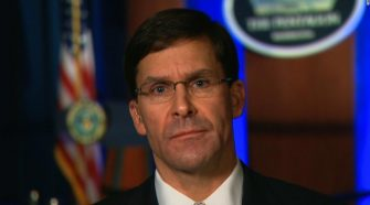 Mark Esper says US isn't looking 'to start a war with Iran, but we are prepared to finish one'
