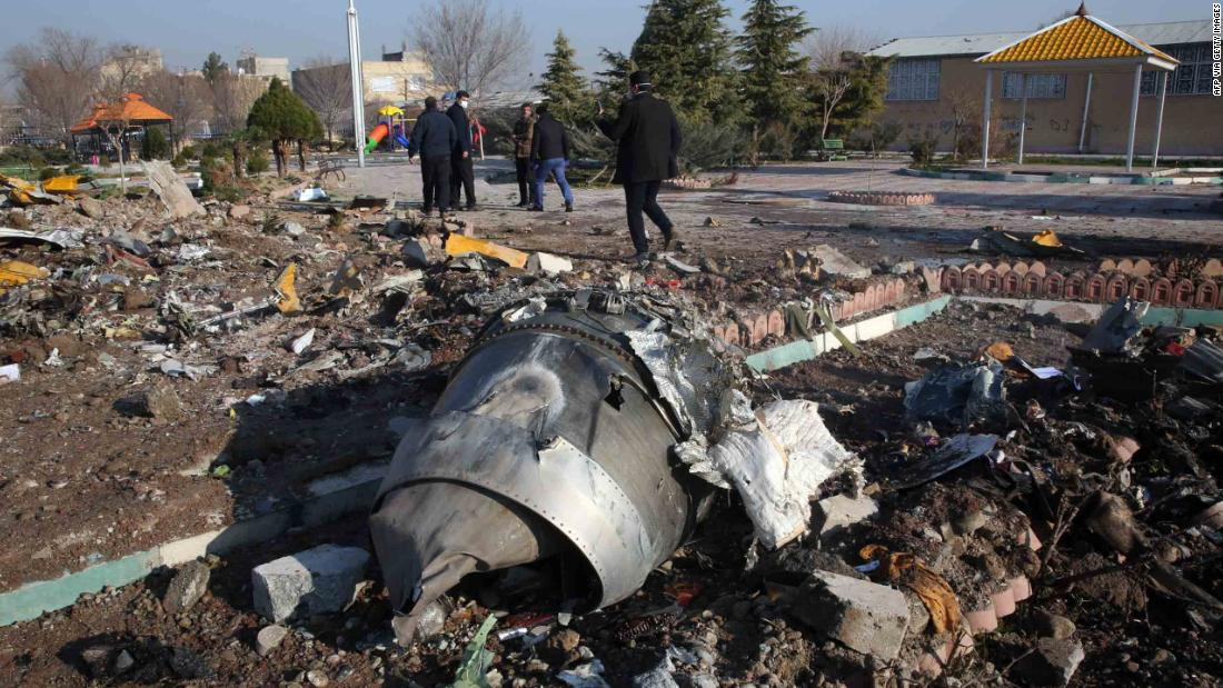 Justin Trudeau says Canada has intelligence Iran shot down Ukrainian airliner