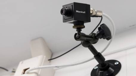 A camera is integrated with the 'black box'