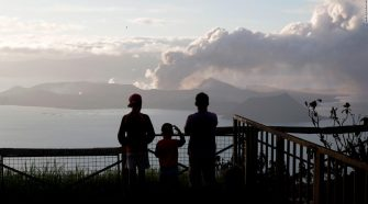 Philippines volcano: Residents urged not to return home as Taal continues to spew ash, lava fountains