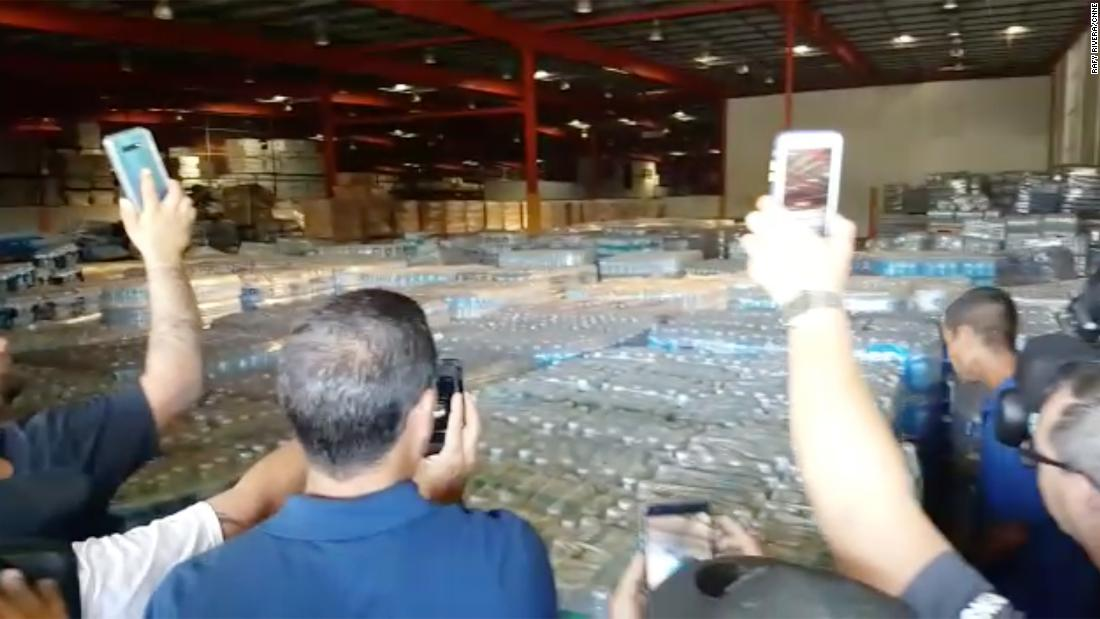 Puerto Rico emergency director fired after residents discover warehouse full of Hurricane Maria supplies