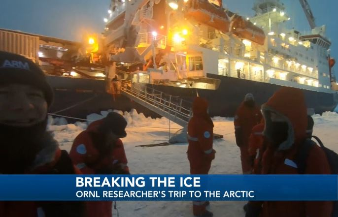 ORNL explorer back from the Arctic