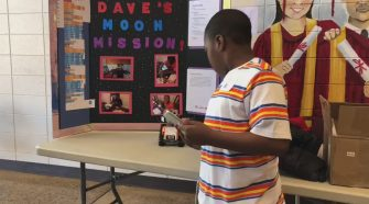 Kids showcase their projects at the Bibb County Technology Competition