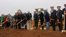 ENF Technology broke ground in Kyle Jan. 17. (Evelin Garcia/Community Impact Newspaper)