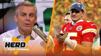 49ers could 'smell the fraudulent Packers fear,' Colin applauds Andy Reid & Chiefs | NFL | THE HERD - The Herd with Colin Cowherd