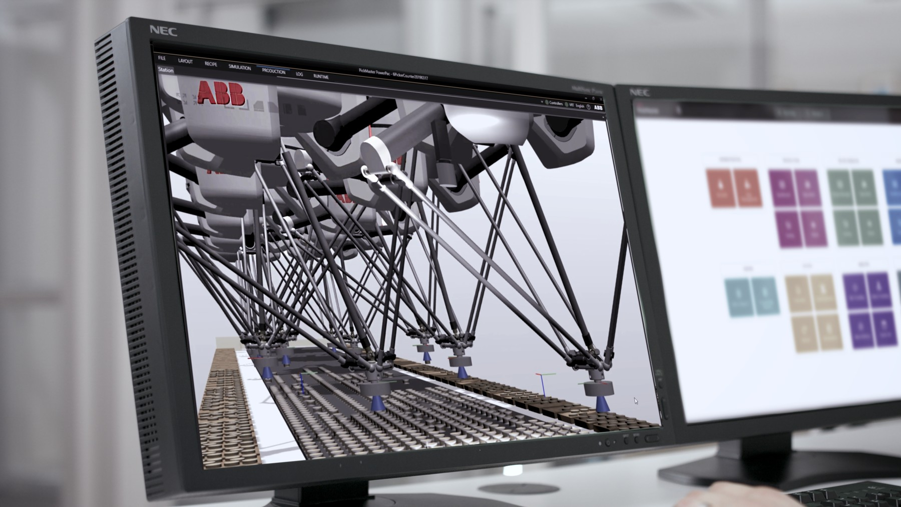 Robotic software now features digital twin technology