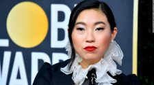 Awkwafina makes Golden Globes history