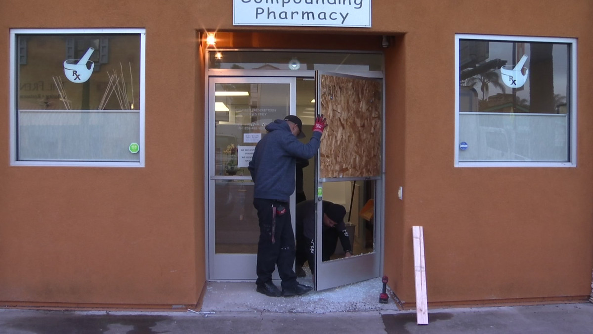 Break-Ins Reported at Pacific Beach Businesses – NBC 7 San Diego