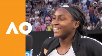 """Coco Gauff: """"What is my life?! This is crazy!"""" 