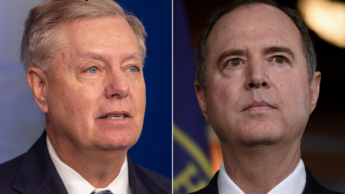 Graham congratulated Schiff on a 'well done day' in impeachment trial