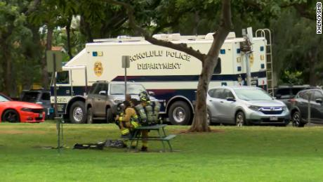 Police responded to a call for help in Waikiki Sunday.