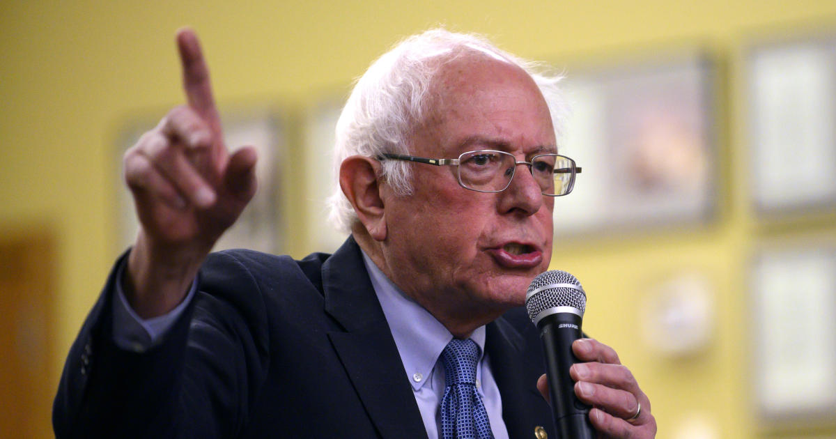Iowa and New Hampshire poll: Bernie Sanders starts 2020 in strong position in 2 early states — CBS News Battleground Tracker poll