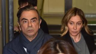 Carlos and Carole Ghosn