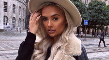 Love Island star Molly Mae Hague has had an Instagram post banned for breaching advertising rules. Pic: ASA