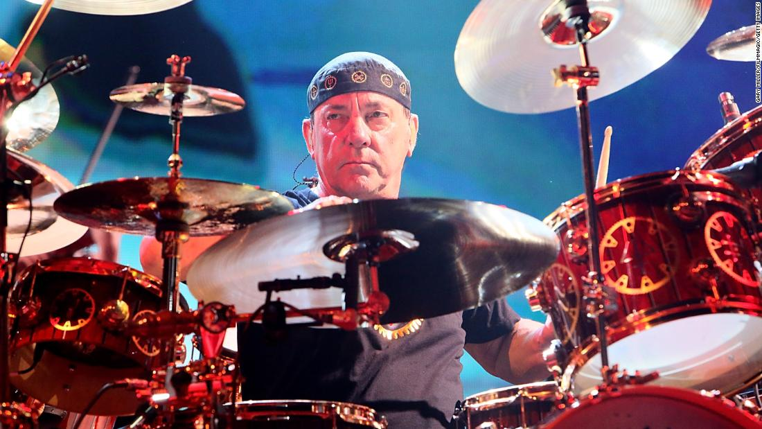 Neil Peart, the drummer and lyricist of Rush, has died at 67
