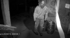 Police release photos of suspect in Phillips break in