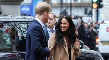 Prince Harry, Meghan Markle make 1st public appearance since holiday break