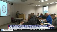 ULM professor, student train law enforcement on drone technology