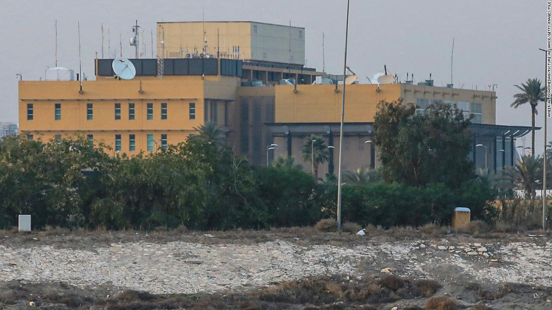 US embassy attack: Rockets strike embassy compound in Baghdad