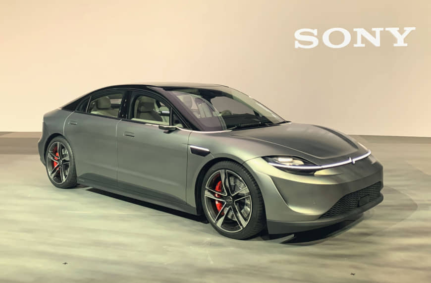 Sony unveils electric car equipped with autonomous driving technology at Las Vegas event