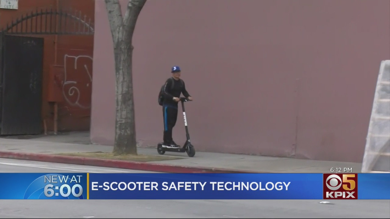 San Jose Testing E-Scooter Technology To Get Riders To Stay Off Sidewalks – CBS San Francisco